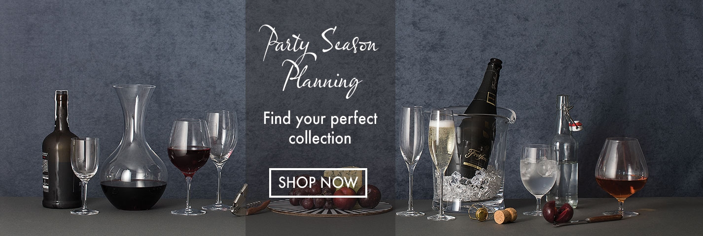 Dartington Crystal Party Planning Season