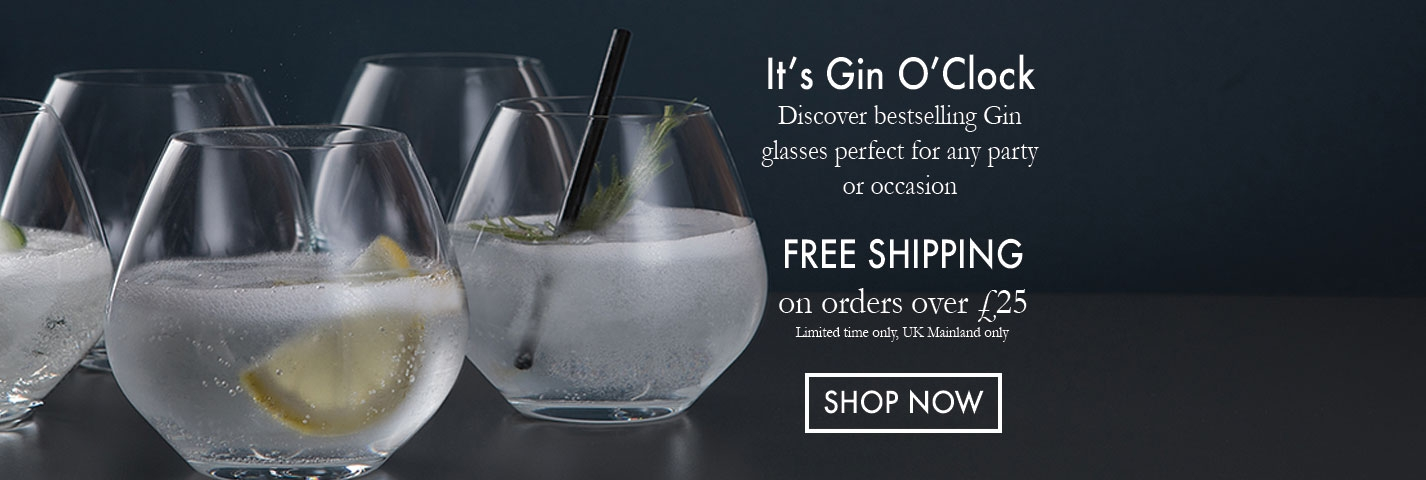Gin Glasses by Dartington Crystal